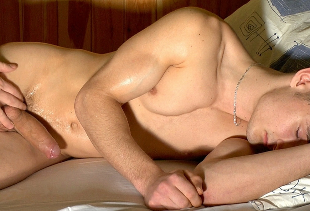 Sleeping Boy Handjob