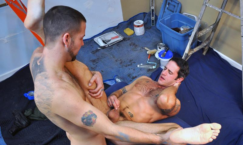 Preston Steel & Clayton Archer in Men Hard at Work